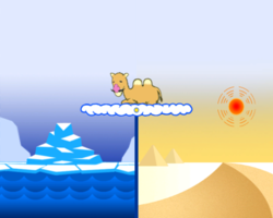 Climate Control in WarioWare: Smooth Moves.