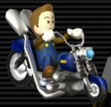 Wario Bike from Mario Kart Wii