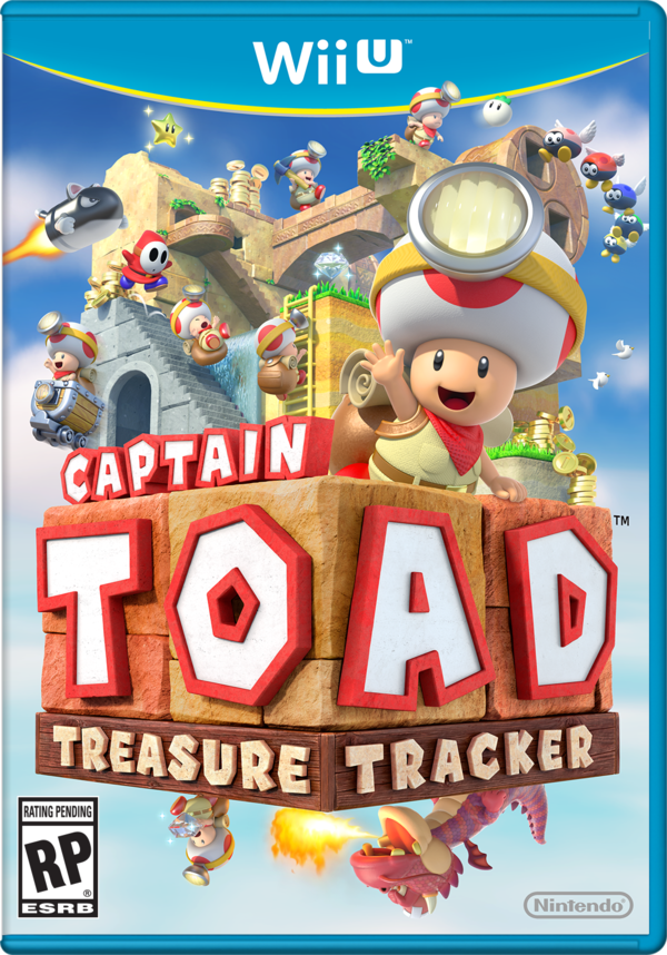 Boxart for Captain Toad: Treasure Tracker