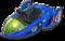 Blue Falcon from Mario Kart 8