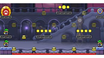 Miiverse screenshot of the 24th official level in the online community of Mario vs. Donkey Kong: Tipping Stars