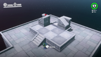 The Puzzle Part bonus area in the Lake Kingdom in Super Mario Odyssey