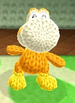 Waddle Dee Yoshi design from Poochy & Yoshi's Woolly World