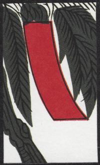 Third card of November in the Club Nintendo Hanafuda deck.