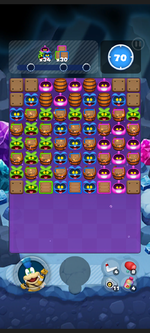 Stage 13A from Dr. Mario World