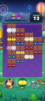 Stage 662 from Dr. Mario World