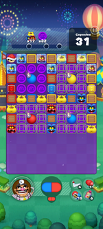 Stage 674 from Dr. Mario World