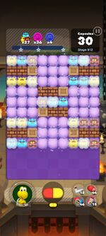 Stage 912 from Dr. Mario World