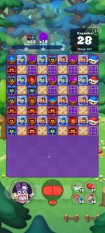 Stage 981 from Dr. Mario World