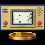 The Helmet trophy, from Super Smash Bros. for Wii U.