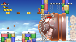 World 9-8, from New Super Mario Bros. Wii.