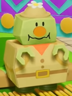 Rumble Jungle's Torque in Yoshi's Crafted World.