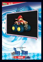The Tiny Titan card from the Mario Kart Wii trading cards
