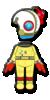 Olimar Mii racing suit from Mario Kart 8