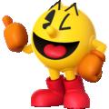 Artwork of Pac-Man in Super Smash Bros. for Nintendo 3DS / Wii U.