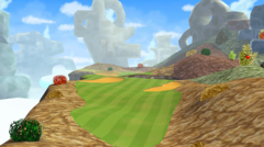 Hole 7 of Rock-Candy Mines