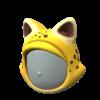"""The """"Cheetah Headgear"""" Mii headwear"""