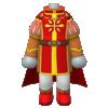 "The ""Royal Attire"" Mii costume"