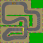 The map for Mario Circuit 2.