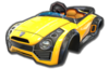 Sports Coupe body from Mario Kart 8