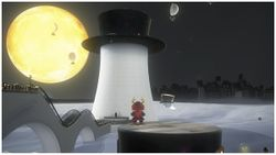 Outside Top-Hat Tower in Super Mario Odyssey.