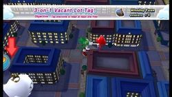 An image of 3-on-1 Vacant Lot Tag in Mario and Sonic 2012 Olympic Games.