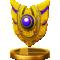 Back Shield trophy from Super Smash Bros. for Wii U