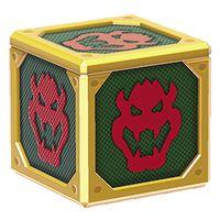 A Baddie Box from Super Mario 3D World.
