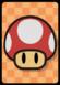 A Big Mushroom Card in Paper Mario: Color Splash.