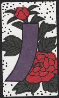 Second card of June in the Club Nintendo Hanafuda deck.