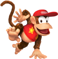 Diddy Kong from Super Smash Bros. for Nintendo 3DS / Wii U.