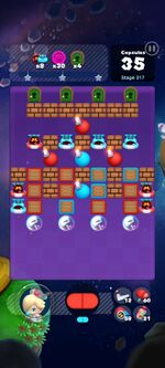 Stage 317 from Dr. Mario World since March 18, 2021