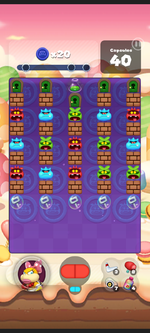 Stage 463 from Dr. Mario World