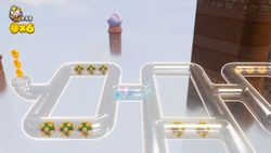 Floating Mines in Captain Toad: Treasure Tracker