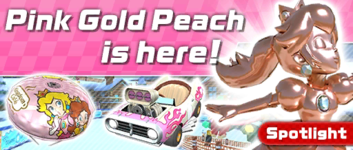 The Winter Pipe 2 from the Winter Tour (2019) in Mario Kart Tour