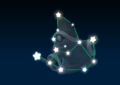 Kamek's constellation in the game Mario Party 9.
