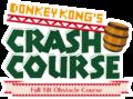 Donkey Kong's Crash Course logo of Nintendo Land