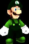 Rendered model of Flying Luigi in Super Mario Galaxy.