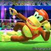 Diddy Kong's taunt from Mario Sports Superstars