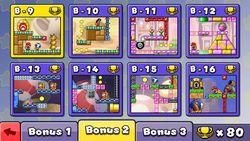 Menu of Bonus 2