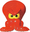 Artwork of Bubbler the Octopus in Diddy Kong Racing.