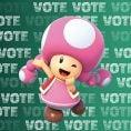 Option in a Play Nintendo poll on which Nintendo character could be class president. Original filename: <tt>1x1-BTS_18_poll_2_g.6ef5f3152e16d0ba.jpg</tt>