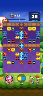 Stage 241 from Dr. Mario World