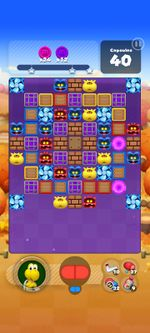 Stage 809 from Dr. Mario World