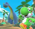 GCN Dino Dino Jungle R from Mario Kart Tour
