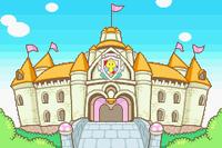 Peach's Castle in Mario & Luigi: Superstar Saga