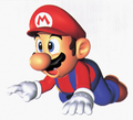 Mario Crawl Artwork - Super Mario 64.png
