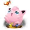 Jigglypuff's Final Smash Trophy from Super Smash Bros. for Wii U