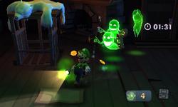 Severe Infestation from Luigi's Mansion: Dark Moon.