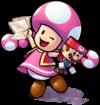 Toadette from Mario & Luigi: Paper Jam
